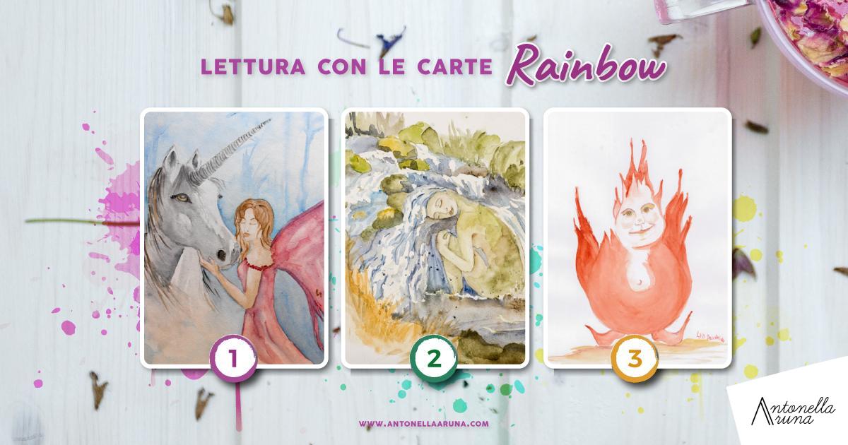 Lettura con le carte Rainbow